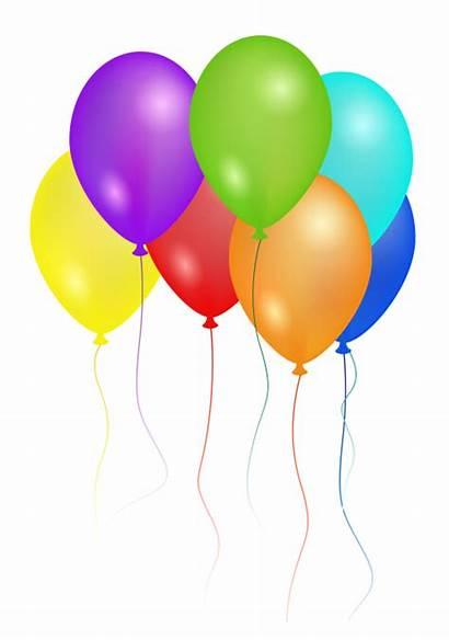 Balloons Birthday Party Transparent Balloon Decoration Clipart