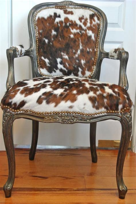 Cowhide Upholstery by Classic Cowhide Chair