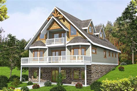 mountain house plan  expansion possibilities gh