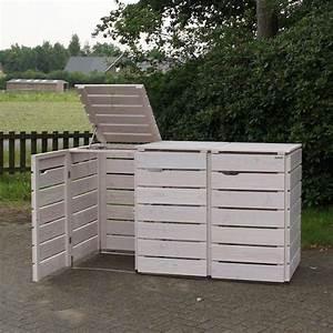 Mülltonnenverkleidung Aus Paletten : m lltonnenbox wei ge lt m lltonnenbox ~ A.2002-acura-tl-radio.info Haus und Dekorationen