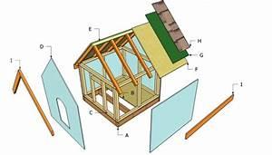 Simple dog house plans myoutdoorplans free woodworking for Basic dog house plans