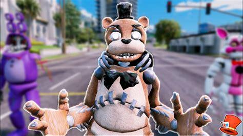 Brand New Drawkill Freddy Animatronic! (gta 5 Mods For