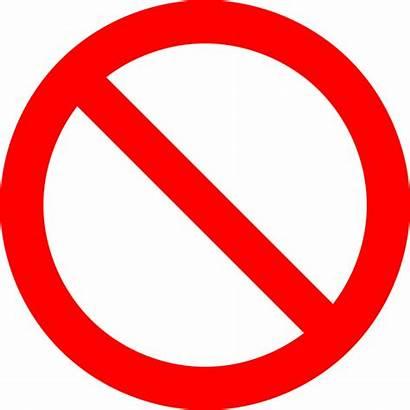 Symbol Sign Prohibition Prohibited Vector Pixabay Graphic