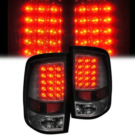 2013 ram 1500 tail lights 2009 2013 dodge ram 1500 2500 3500 led tail lights black