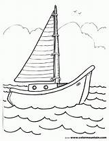 Boat Sailboat Coloring Motor Sailing Template Sheet Drawing Clipart Printout Coloing Sketch Getdrawings Coloringhome Library Popular Templates sketch template