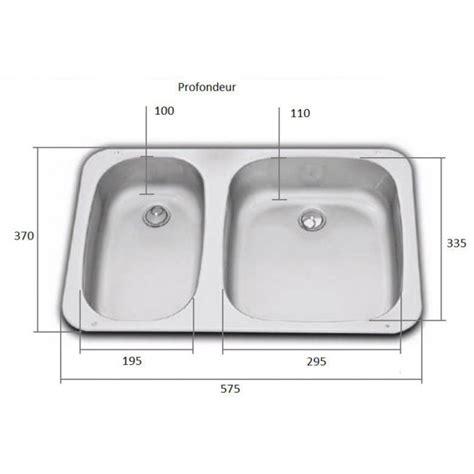 dimension evier cuisine accessoire bateau cing car évier cuisine avec 2