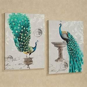 peacock wall art for splendid home decor With peacock wall decor