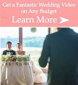 how to use a wedding selfie stick without being a jerk With budget wedding videography