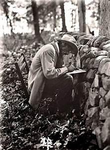 Stone Wall at Gettysburg. Civil War Veteran writing his ...