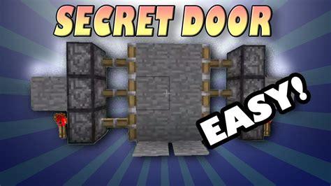 secret door  minecraft  mod needed