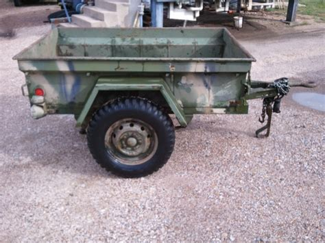 military jeep trailer m416 jeep trailer 67 cemsco 4134 deer c
