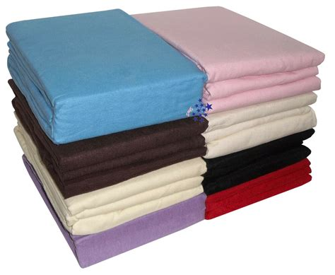 thermal flannelette 100 brushed cotton duvet fitted flat