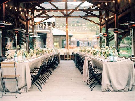 simple organic wedding  utah reception pinterest