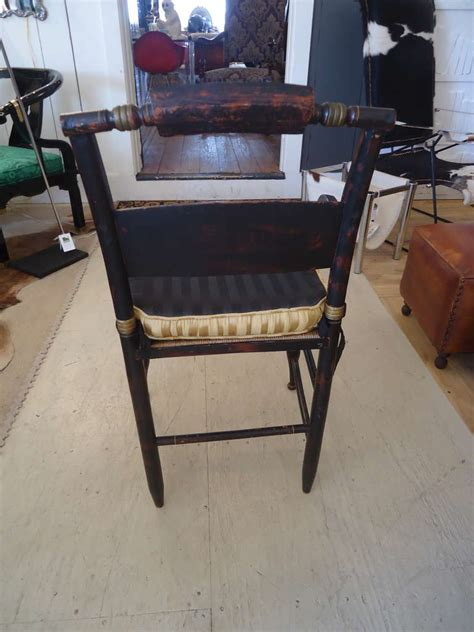 set of 6 hitchcock style dining chairs at 1stdibs