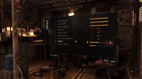 dying light pc dying light pc graphics settings revealed 171