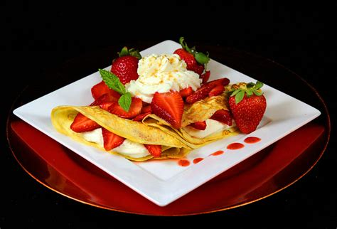 dessert crepe recipes fillings dessert crepes with strawberry filling recipegreat