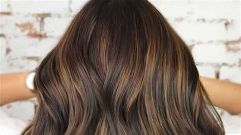 hair color trends  brunettes thatll