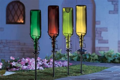 Glass Bottles Garden Decor That Will Steal The Show