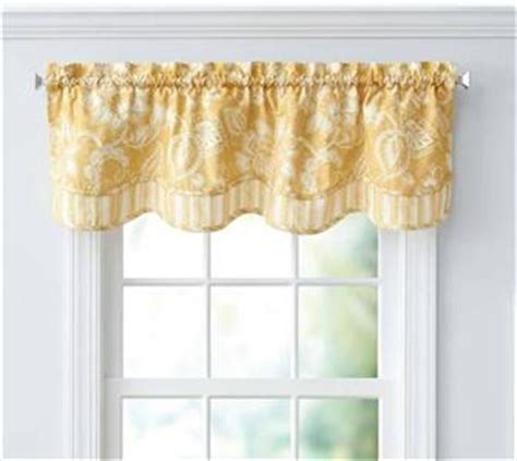 yellow country jacobean floral stripe kitchen curtains