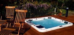 Outdoor whirlpool spa kaufen von optirelax for Whirlpool garten mit französischer balkon