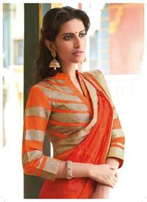 saree blouse designs top blouse designs with quarter sleeves for saree