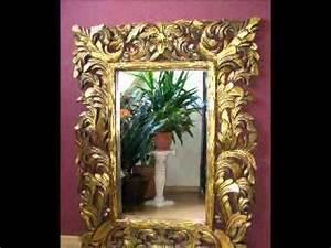 Barockspiegel Wandspiegel Barock Barockstil YouTube