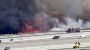 California Wildfire: Body Found as Blaze Nearly Doubles in ...