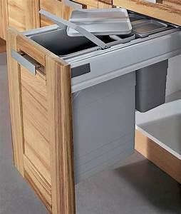 Meuble Poubelle Cuisine : poubelle de cuisine encastr e le blog sagne cuisines ~ Dallasstarsshop.com Idées de Décoration