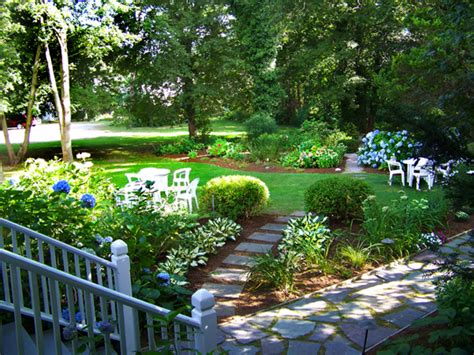 cape cod garden old sea pines inn brewster cape cod