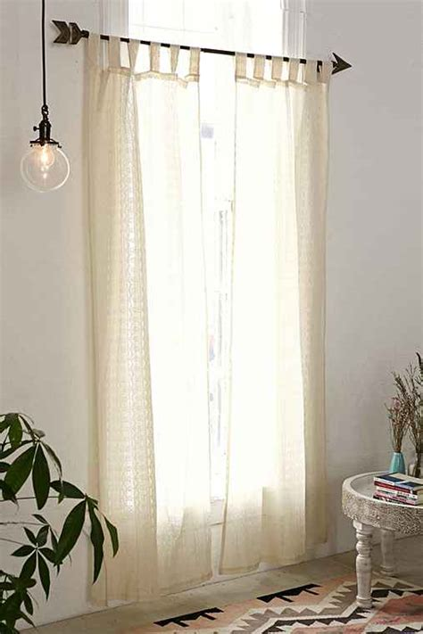 plum bow lace curtain urban outfitters
