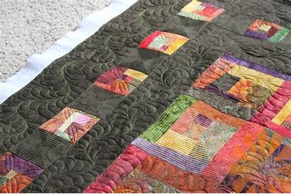Machine Quilting Quilt Feathers Blocks Borders Cabin
