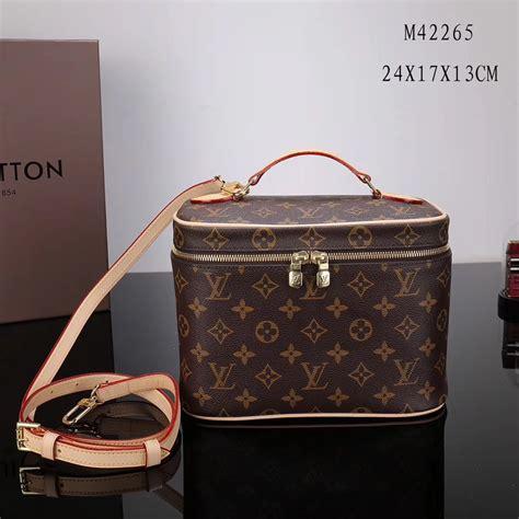 knockoff lv louis vuitton  monogram nice bb toiletry bags handbags brown lv