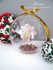Boule Noel Transparente : diy de no l la boule neige team paillettes ~ Melissatoandfro.com Idées de Décoration