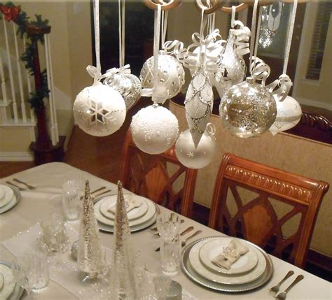 decoration de noel blanc et argent d 233 co table no 235 l argent le chic 224 la table festive