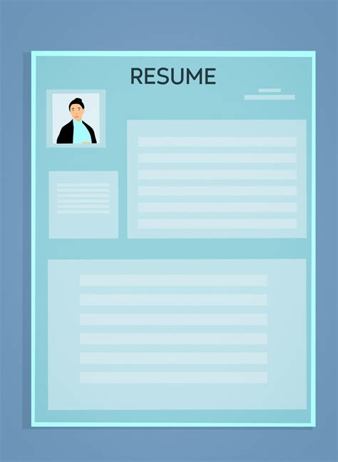 Cv Search by Images Gratuites Cv Resume Template Application