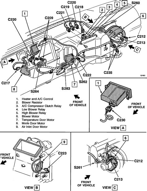 95 Chevy Silverado Heater Wiring by I A 1992 Silverado The A C Compressor And The Low
