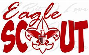 Eagle Scout Vinyl Decal sticker Boy Scouts BSA With Eagle