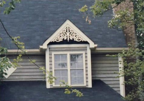 decorative gable trim iron dormer with standard lace gable decoration http www vintagewoodworks gabledecor html