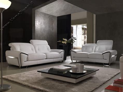poltrone e sofa belluno divano in pelle con poggiatesta reclinabile e piedini in