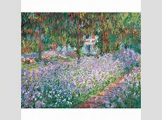 Poster The Garden in Giverny by Claude Monet Boutiques