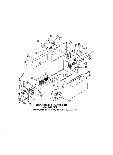 Lincoln Weld Pak 100 Wiring Diagram by Lincoln Mig Welder Replacement Parts Reviewmotors Co