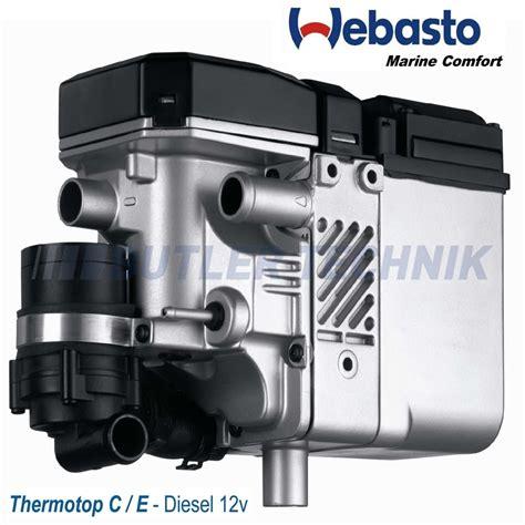 Webasto Thermo Top C Narrowboat Marine Kit 41k5037c