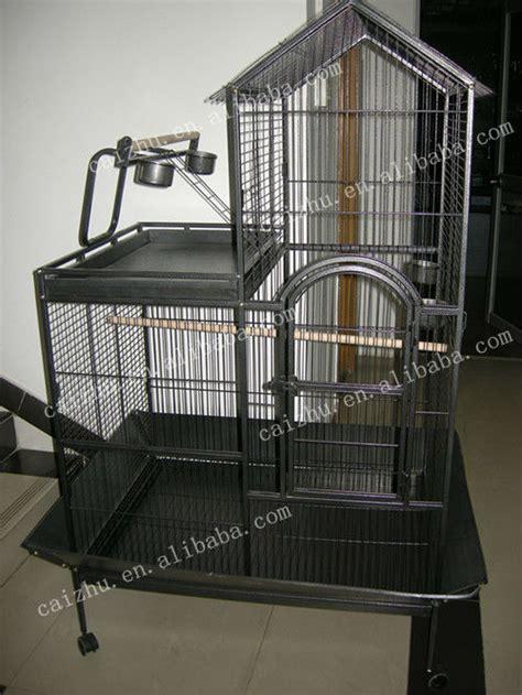 toit m 233 tal en plein air de grandes cages pour perroquets cage caisse transporteur