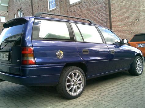Opel Astra F by 1995 Opel Astra F Caravan Pictures Information And