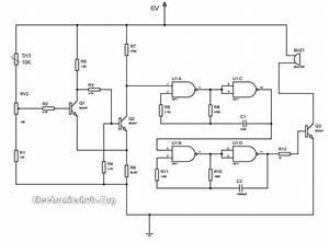 Thermistor Temperature Sensor Circuit