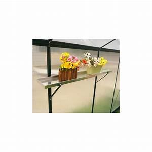 Etagere Pour Serre : etag re en aluminium pour serre de jardin ~ Premium-room.com Idées de Décoration