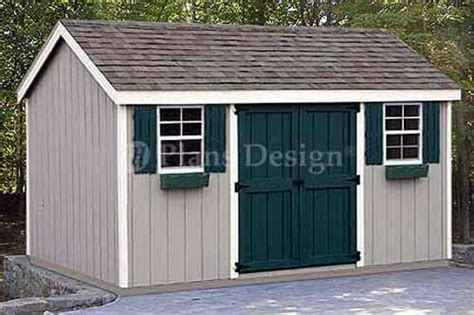 Garden Shed Plans 8x12 8 x 12 storage utility garden shed plans building