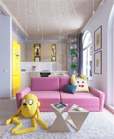 bright homes in three styles pop scandinavian and