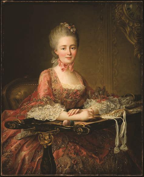 1767 marquise de caumont la by fran 231 ois hubert drouais state muncie