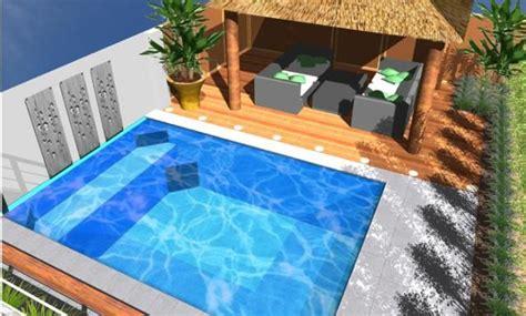 images  plunge pools  pinterest gardens